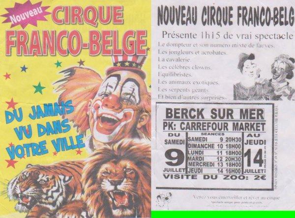 Cirque Franco-Belge Berck Sur Mer 2013