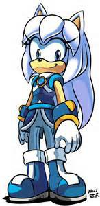 Silveria the hedgehog