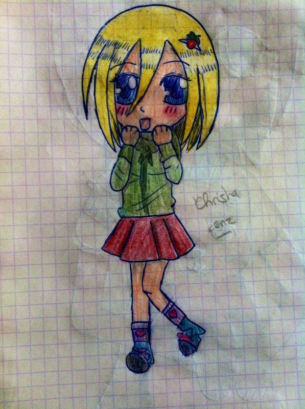 Un P'tit dessin <3 Christa Lenz (AOT Junior High School)