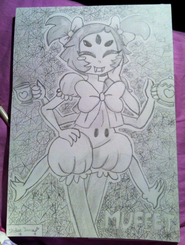 Muffet from Undertale