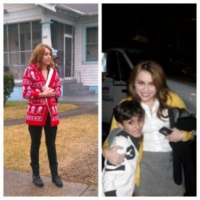 """Ken Baker et Ashley Greene parlant de Miley + photo des coulisses de """"So Undercover"""" + une photo d'elle et d'une fan."""