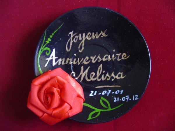 Joyeux Anniversaire Melissa Art Et Culture