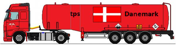 Volvo tps Danemark
