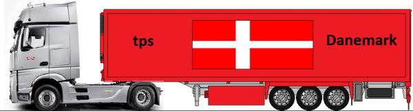 Actros mp4 tps Danemark