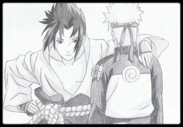 Sasuke et Naruto - Naruto Shippuden