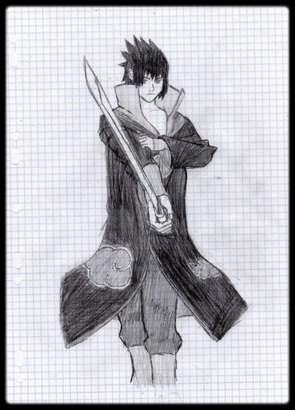 Sasuke Uchiwa (Akatsuki) - Naruto Shippuden
