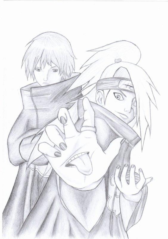 Sasori & Deidara - Naruto Shippuden