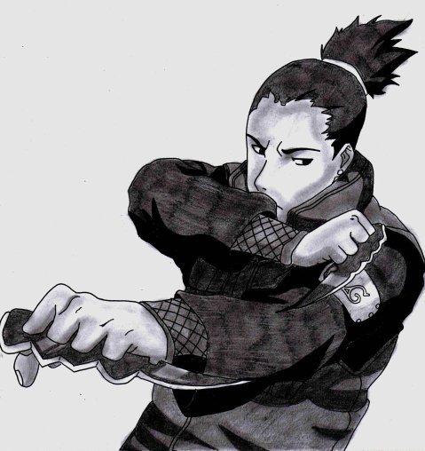 Shikamaru - Naruto Shippuden
