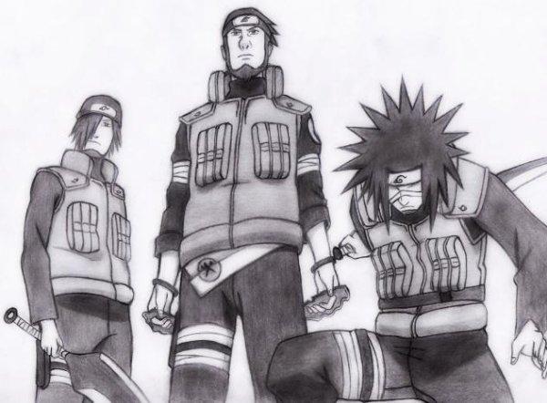 Jônin de Konoha - Naruto