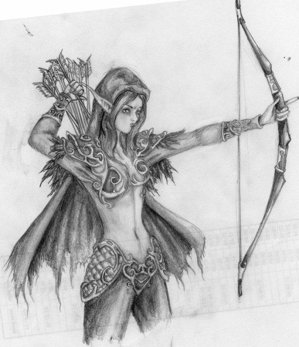 Elfe de la Nuit - World of Warcraft
