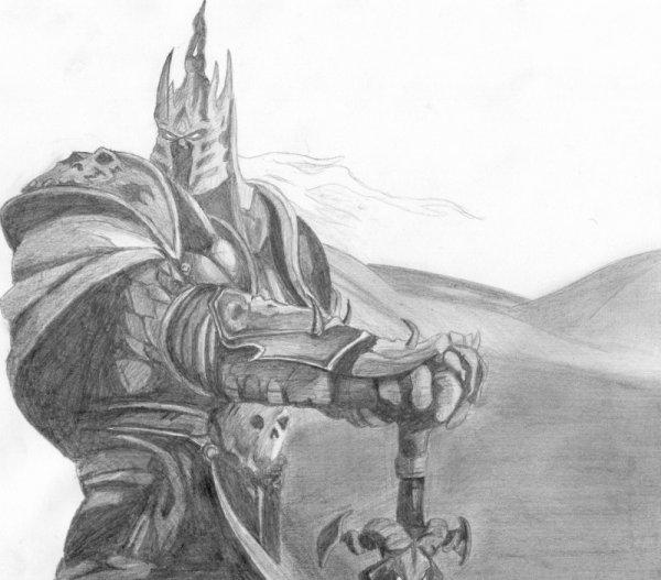 Arthas ( Le Roi Liche) - World Of Warcraft