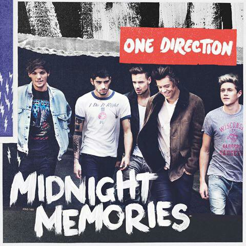 Pochette de Midnight Memories qui sort le 25 Novembre!!!