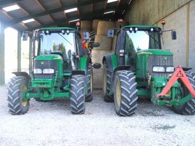Tracteur John deere 6520 a Un copain .