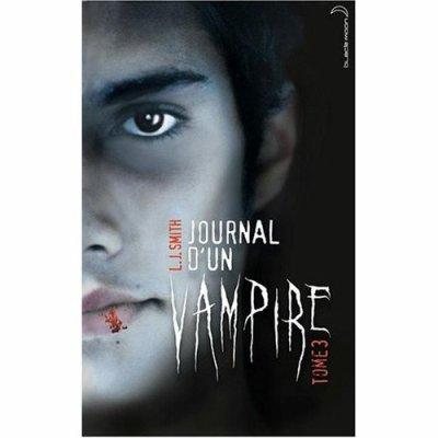 Voici la couverture d'un Journal d'un Vampire Tome 3