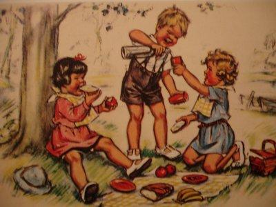 Le bonheur de l'enfance...