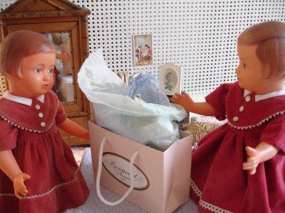 Les Françoises et les paquets...