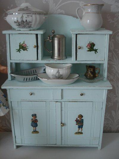 Le buffet bleu...
