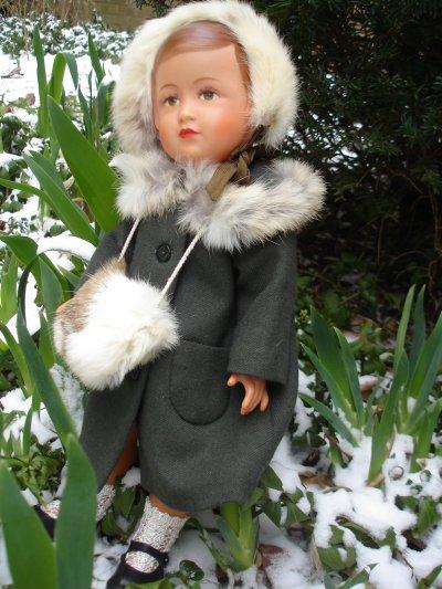 les Françoises découvrent la neige !