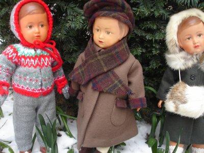 Les Françoises sous la neige...