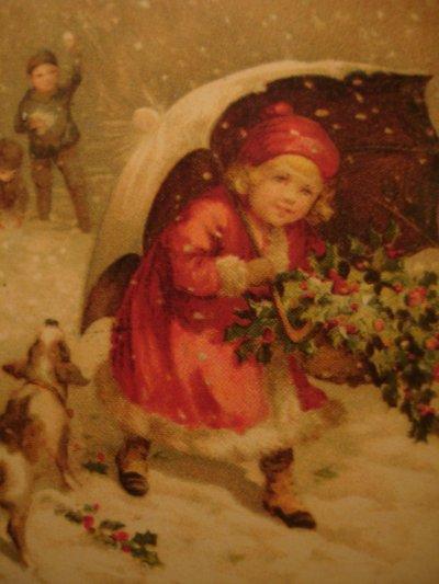 Petits enfants dans le vent, même dans le froid le coeur vaillant...