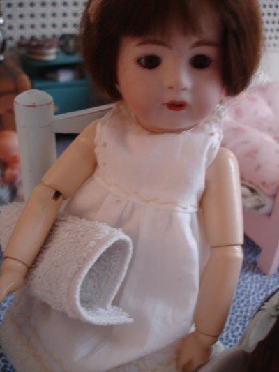Loulotte au bain...