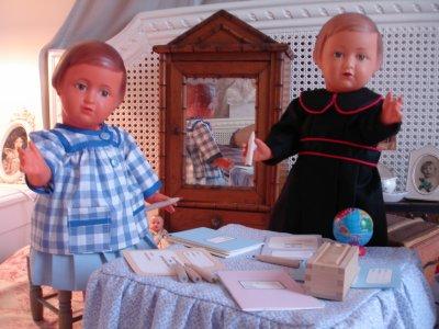 Le pays des poupées !