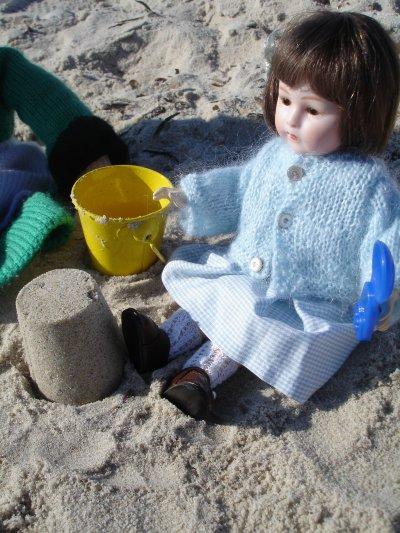 Loulotte à la mer !