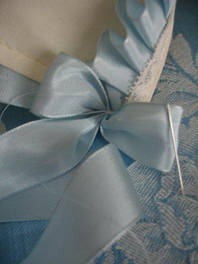 Et du ruban bleu...