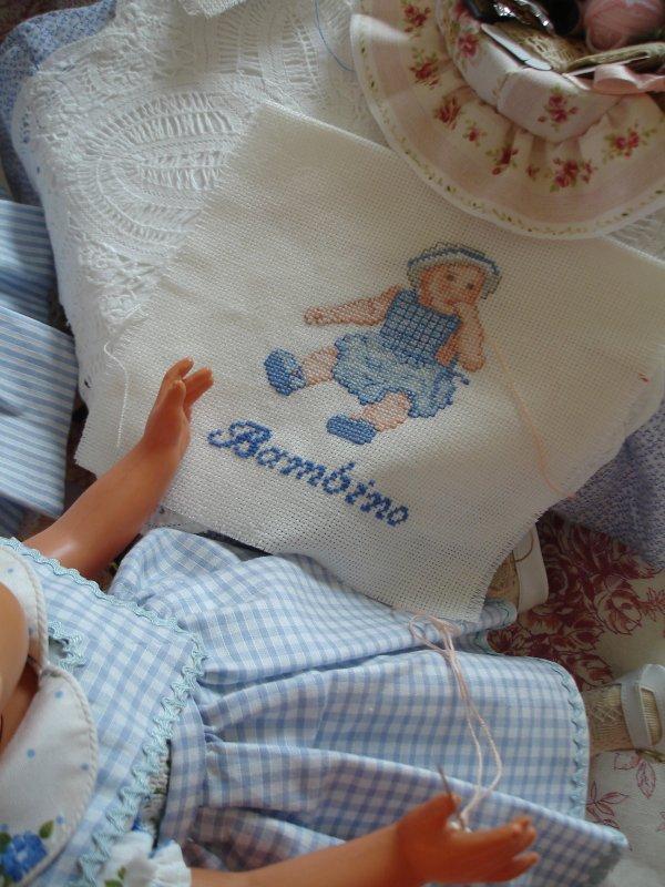 Les Françoises brodent pour Bambino...