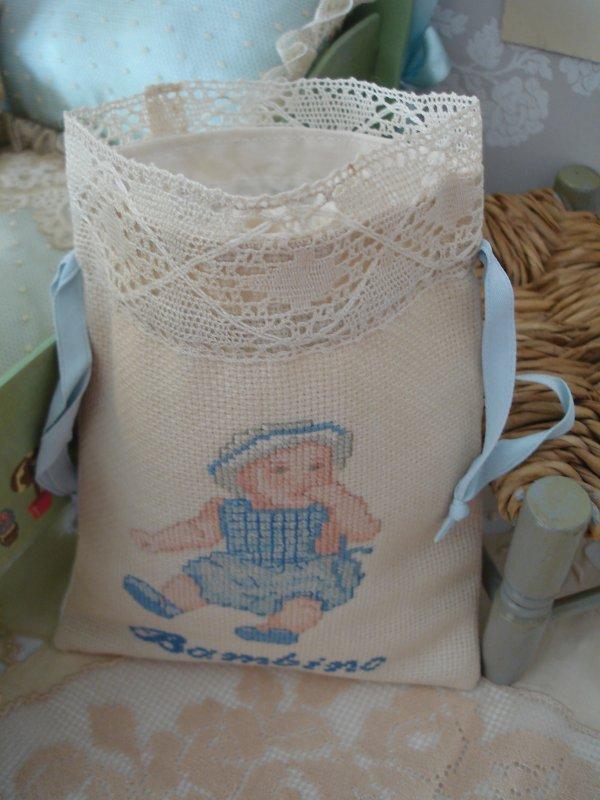 Le sac à chaussons des Bambinos...