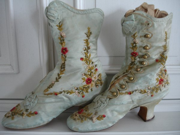 Des bottines de princesse...
