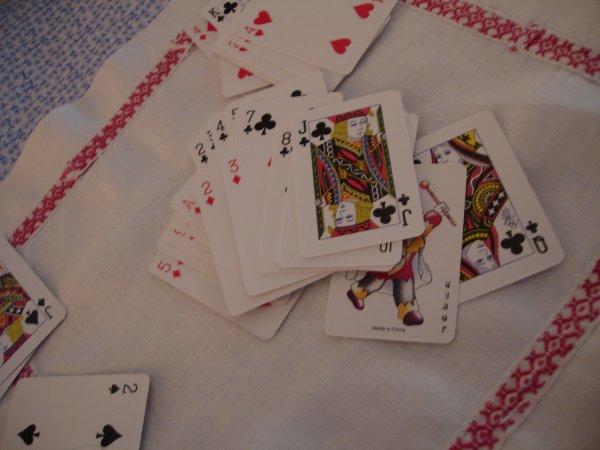 La partie de cartes...
