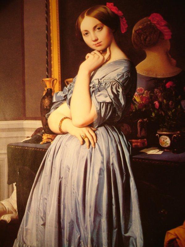 la très belle Louise peinte par Ingres...