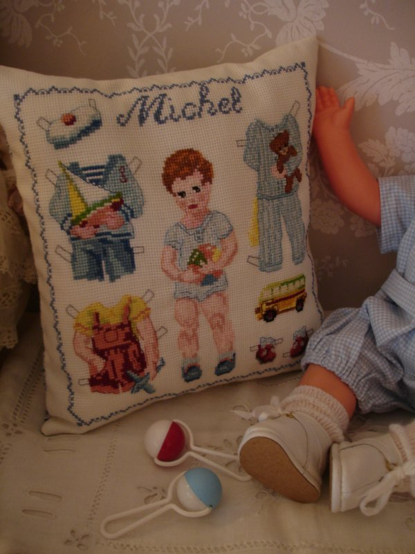 La broderie de Michel...