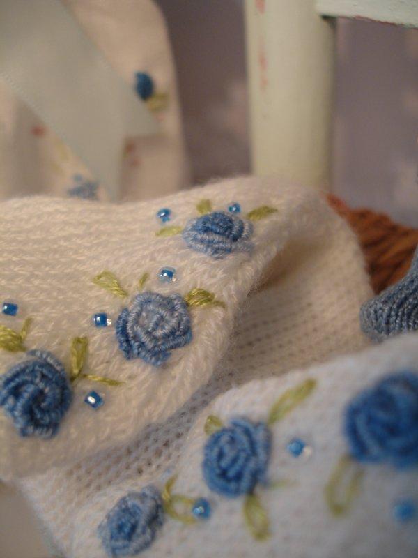 Une rose bleue ?
