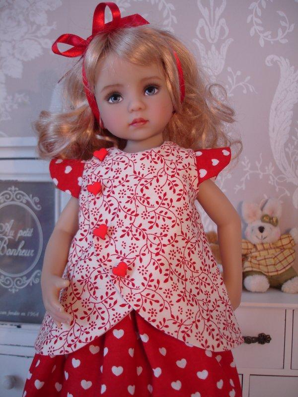 ...En mode rouge et blanc...