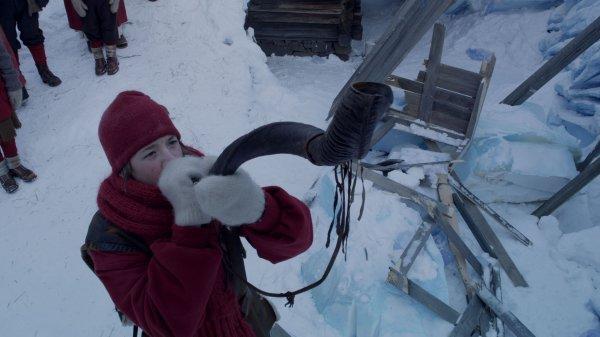 Le  royaume de glace  A la  recherche de la  corne enchantée