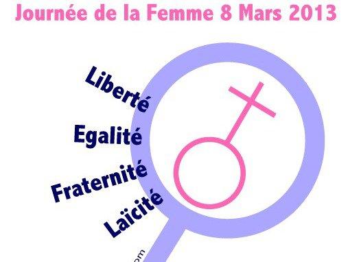 Vendredi 8 Mars  2013  Journée  de la  femme