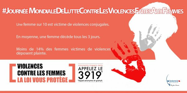journ e mondiale de lutte contre les violences faites aux femmes blog de fyntie 25. Black Bedroom Furniture Sets. Home Design Ideas