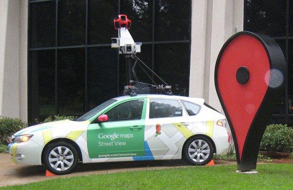 La voiture Google Street View est passée :):)