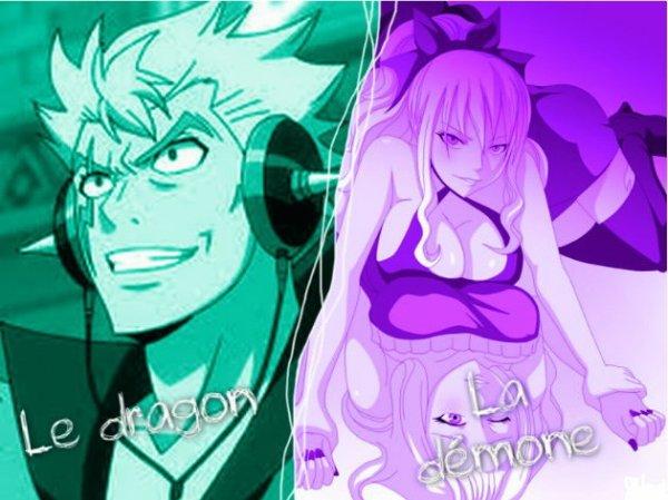 Le dragon et La démone chapitre 3