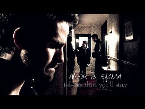 Hook & Emma, Tell me that you'll stay.