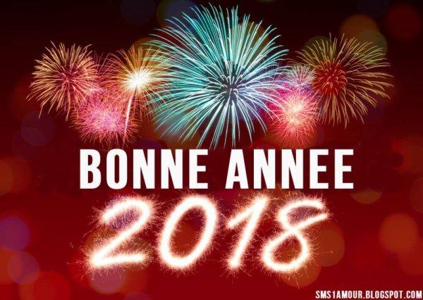 Bonne année à toutes et tous ;)