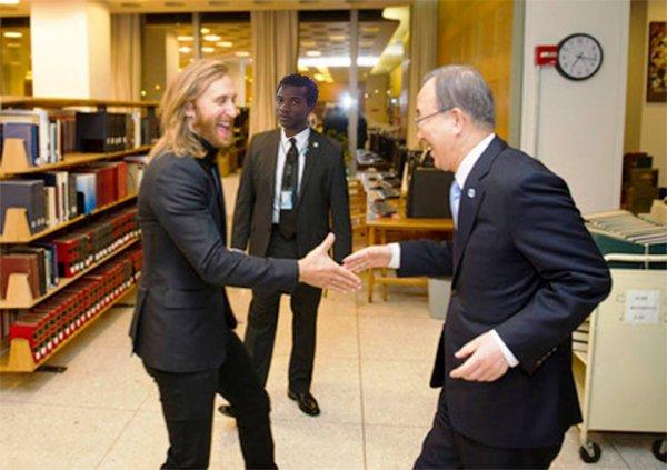 Emmanuel Mougnin a ajouté une photo — avec David Guetta.