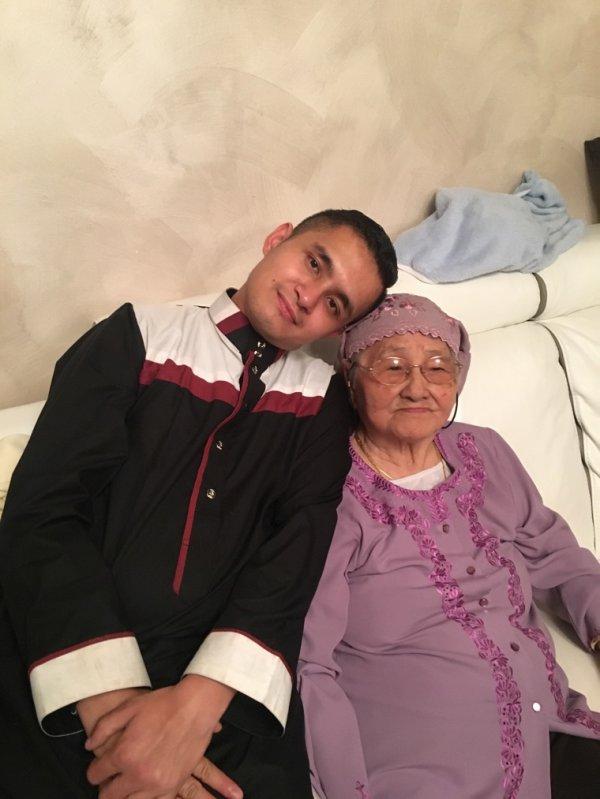 Moi et ma grand mère