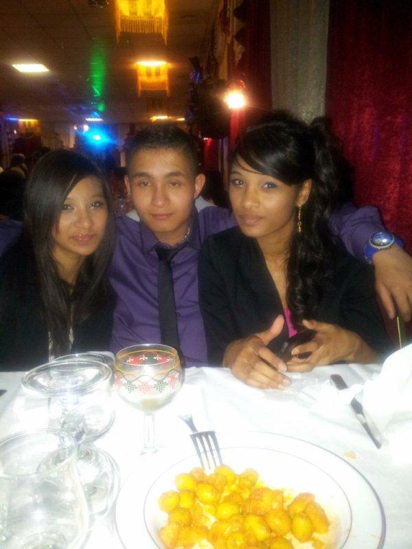 Moi et mes cousin et cousine