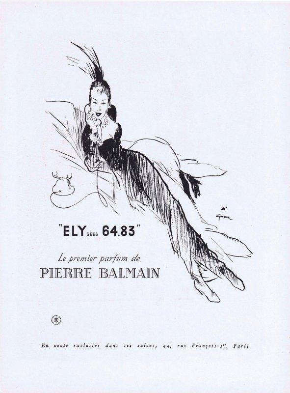 🌸 Balmain  ✿  Elysées 64.83 🌸