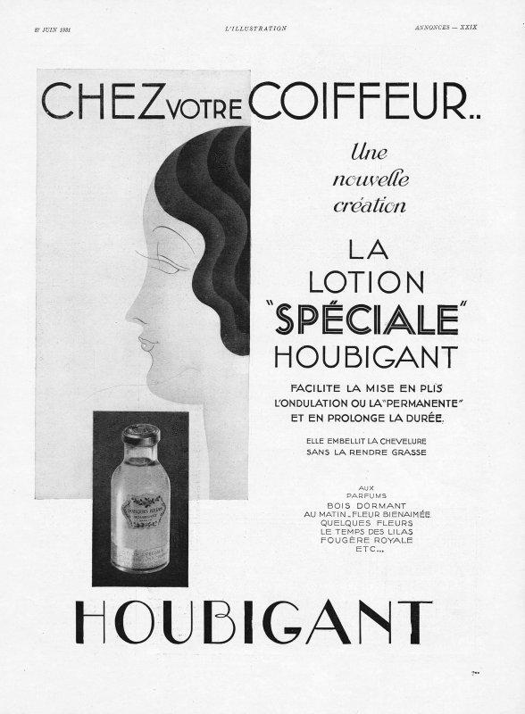 """🌸 Houbigant ✿ """"Chez le coiffeur"""" et soins pour le corps 🌸"""