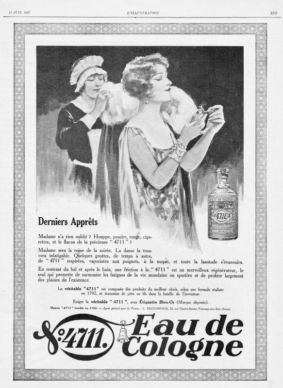 🌸 Muelhens ✿ 4711 🌸 Pubs de l'année 1927 🌸