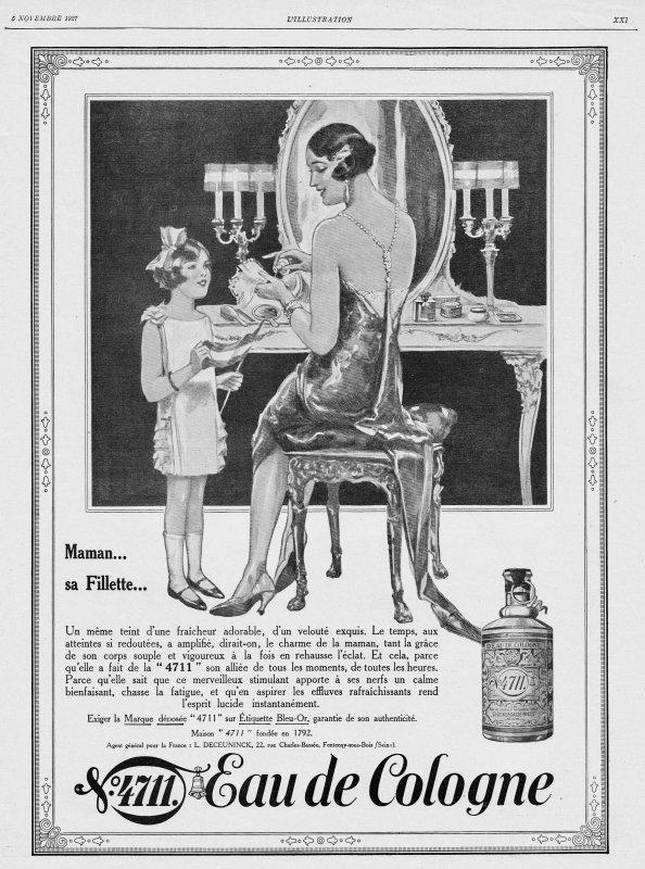 🌸 Muelhens ✿ 4711 🌸Pubs de l'année 1927 🌸